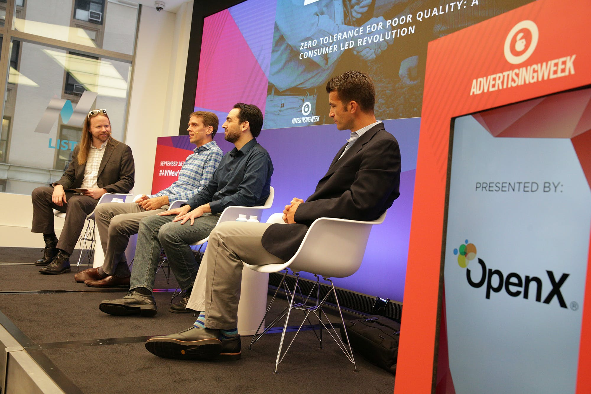 OX Blog AdWeekDay4 2 - Advertising Week New York Day 4: The Quality Conversation Continues