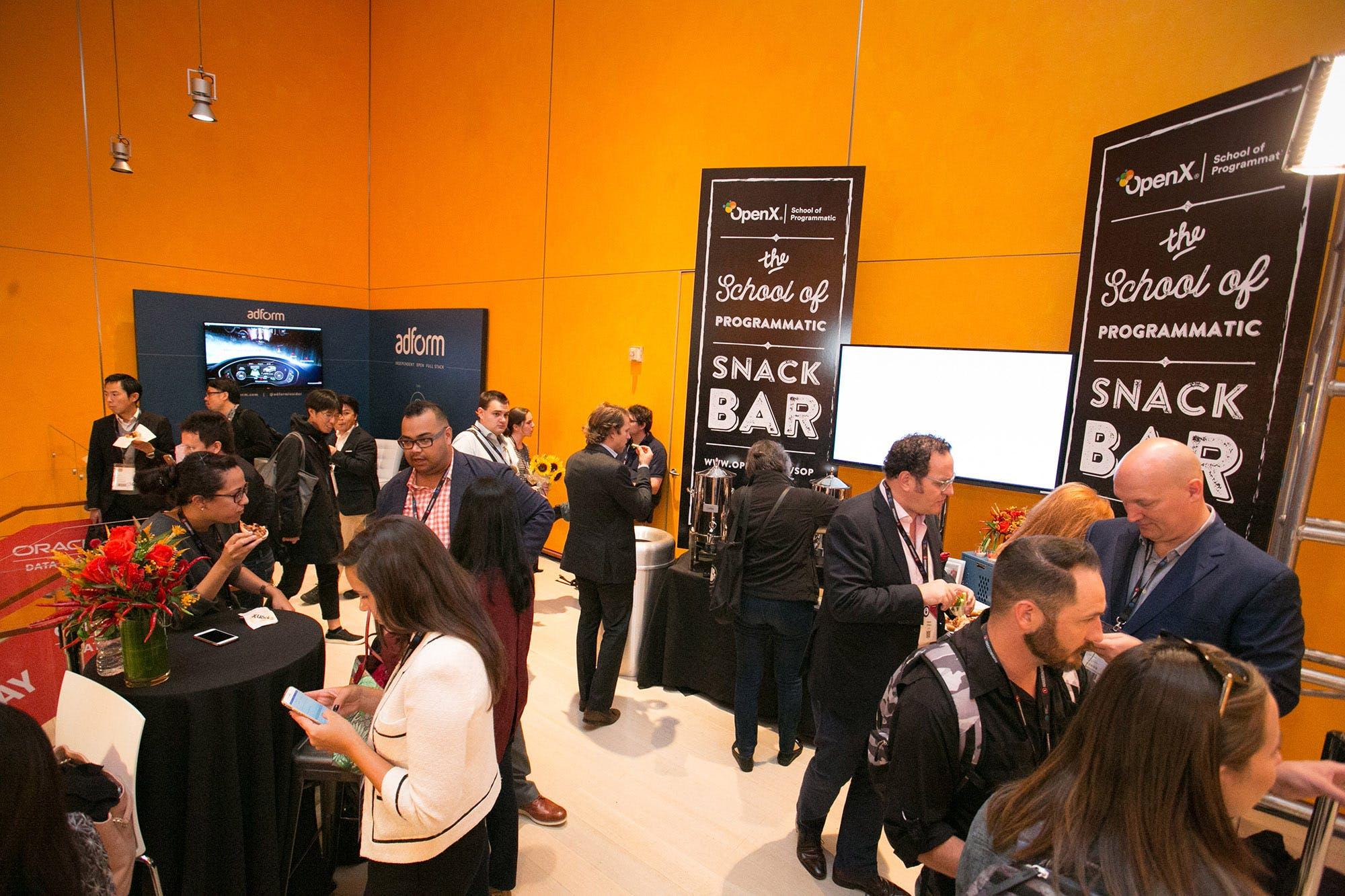 OX Blog AdWeekDay SnackBar - Advertising Week New York Day 2: Header Bidding, Header Bidding, Header Bidding
