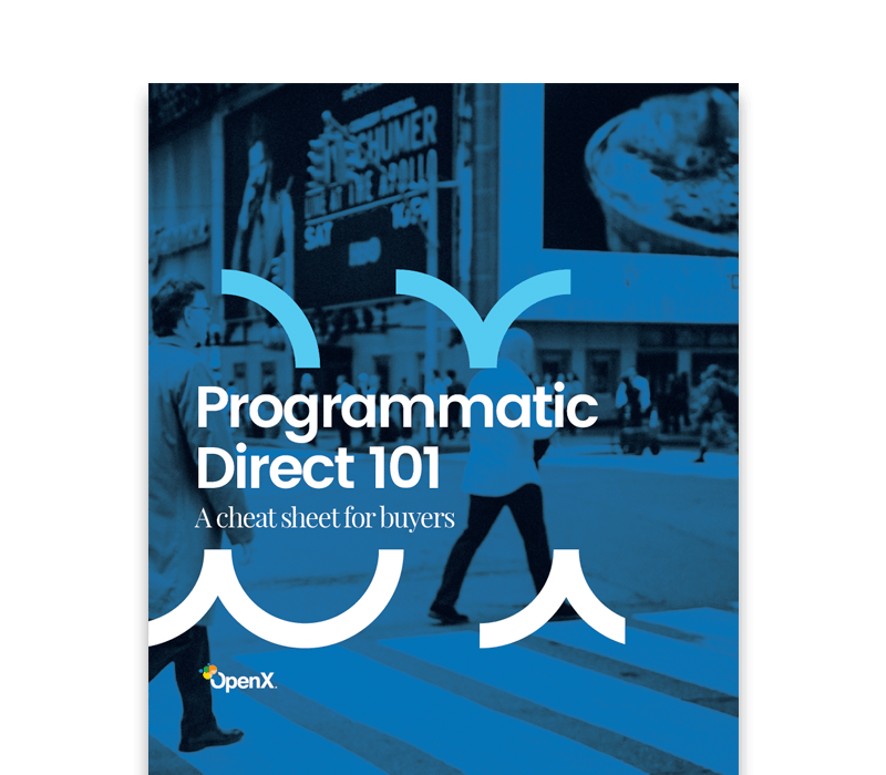 OpenX Programmatic Direct 101 for Buyers