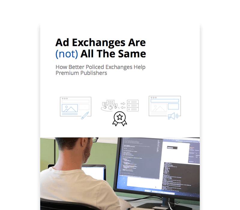 Ad Exchanges Are (not) All The Same White Paper