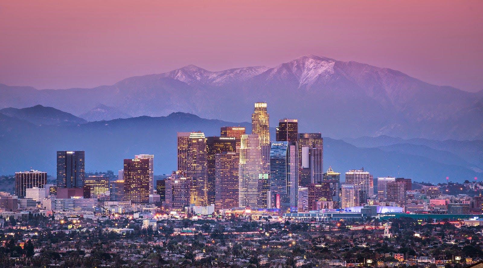 LA Skyline - IAB ThinkLA Programmatic Summit