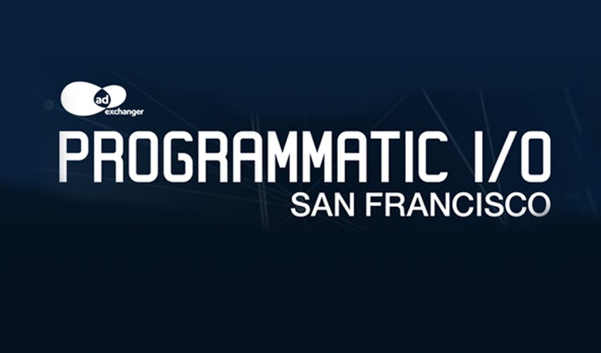 Programmatic I/O San Francisco