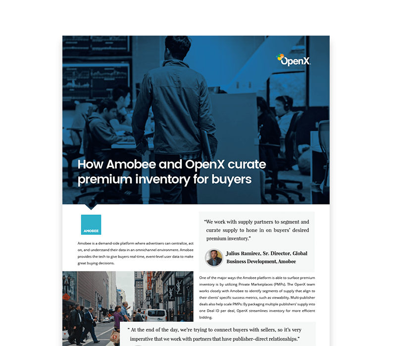 OX CaseStudies Thumbs Amobee - Amobee (previously Turn) + OpenX Private Marketplaces Case Study
