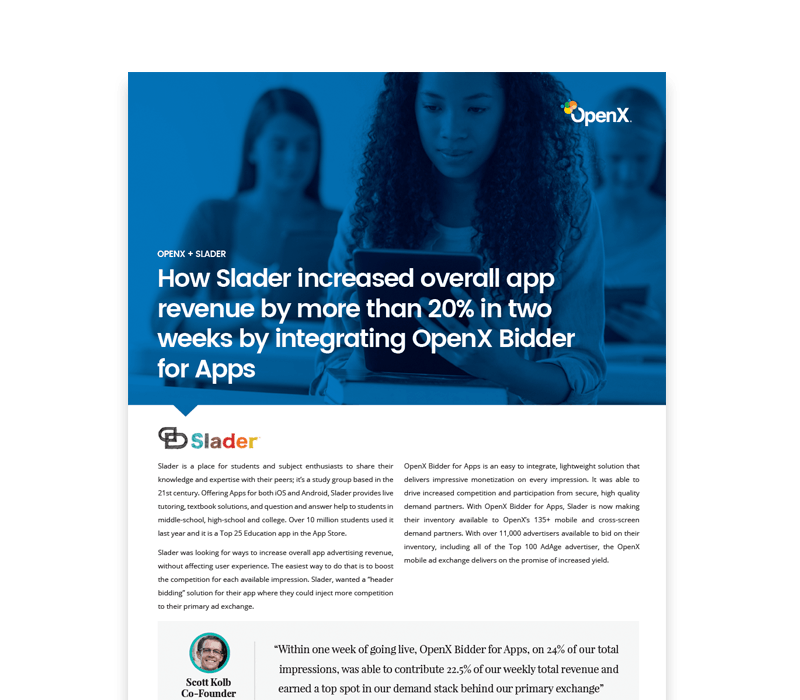 OX CaseStudies Thumbs Slader 1 - How Slader Increased Overall App Revenue by More than 20%