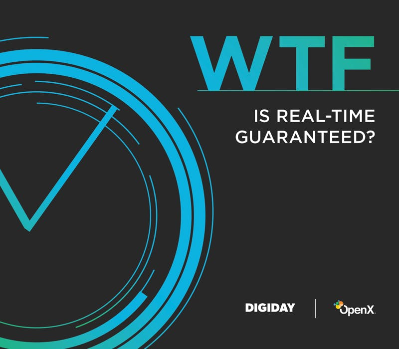 WTFRTG Product Thumb - OpenX Programmatic Direct: Real-Time Guaranteed (RTG)