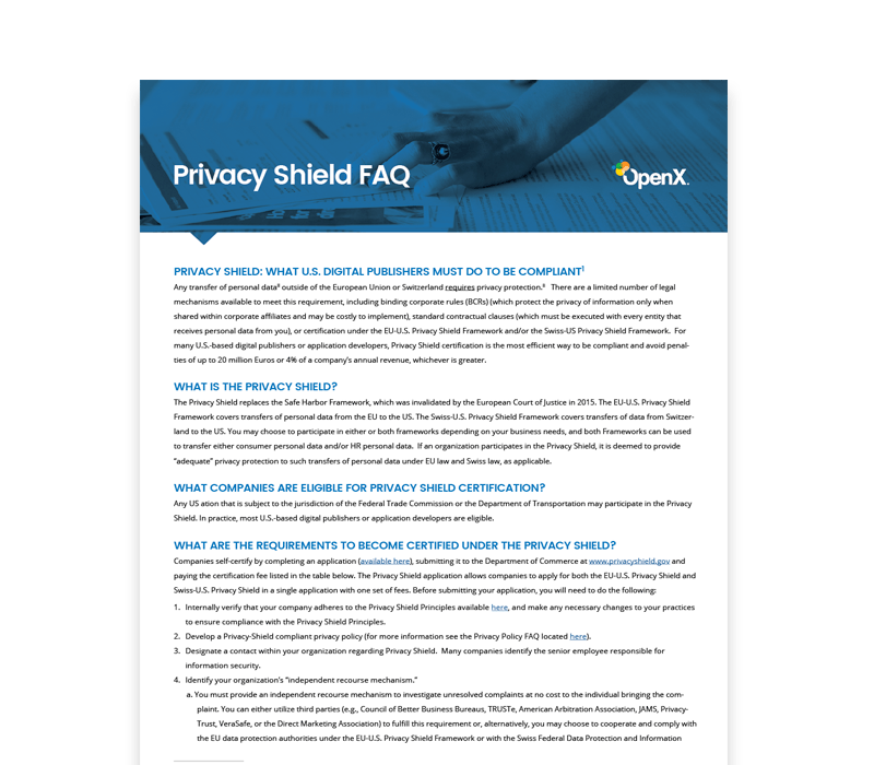 OX CaseStudies Thumbs PrivacyShield 1 - General Data Protection Regulation