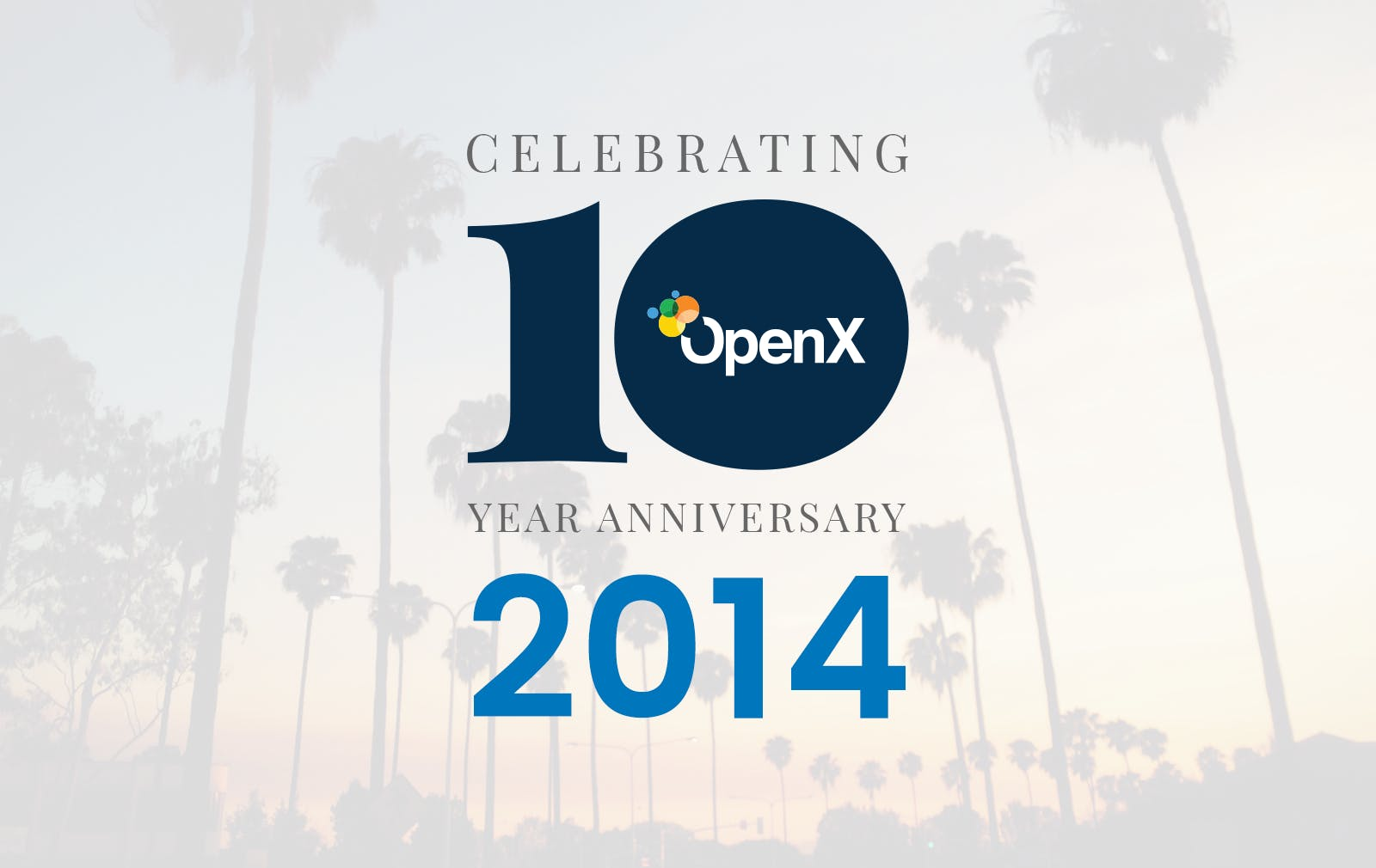 OX10Year BlogPosts 2014 featured - Global Leader in Programmatic Advertising