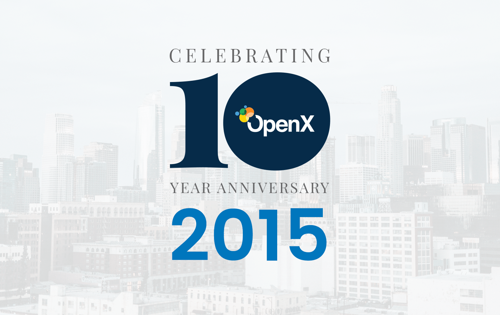 OX10Year BlogPosts 2015 featured - Global Leader in Programmatic Advertising